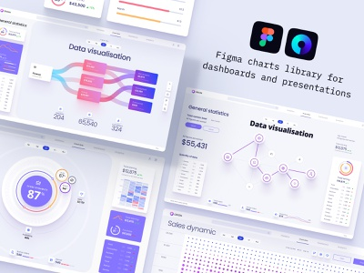 Components for dashboards and presentation cloud app cloudy science database presentation code components development cloud saas data analytics chart data vusialisation desktop chart infographic product dashboard dataviz template