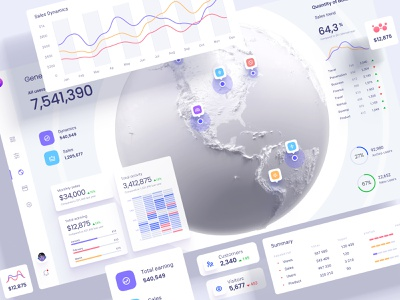Ready-to-use Graphics, widgets and dashboard templates for your mobile template new figma components future machine learning bigdata develop technology cloud app desktop chart infographic statistic dataviz charts service dashboard