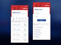 Septa Mobile App