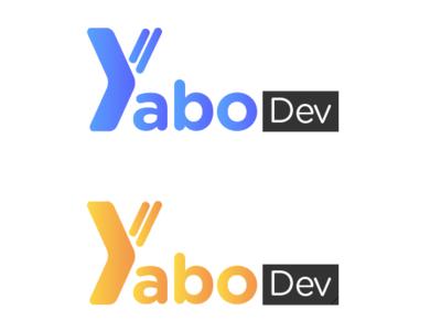 Logo Yabo.dev development illustration design typography logo