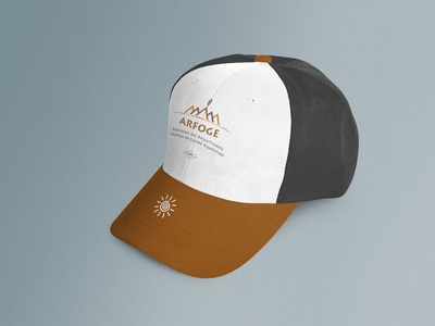 ARFOGE Logo & Hat design Mockup logo cap mockup cap logo design print design print hat design hat