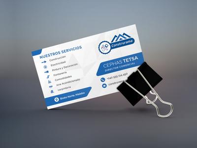 Business card design logo design print design print blue spanish business card mockup business card design business card