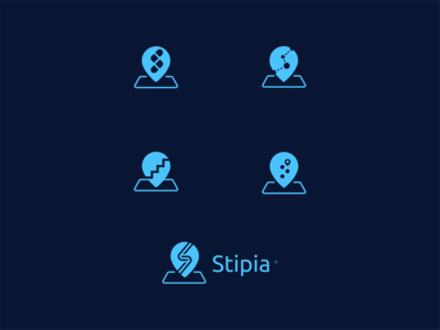 Logo Design — Stipia map logo location logo location wip branding stipia logo logo design design