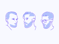 Design team portraits