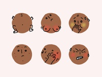 Body Icons for a women's health app