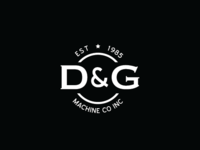 D & G Machine Co Logo