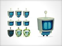 Robot Sprite Design
