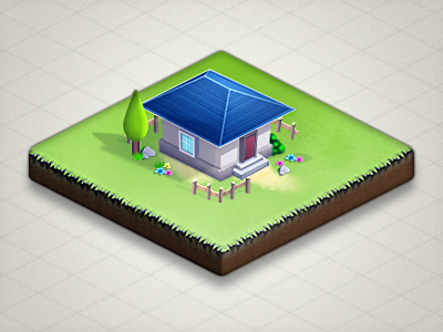 House house sprite game iso isometric video game