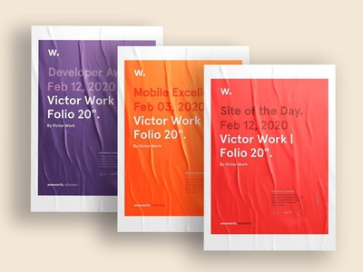 "Folio VW20"" - Certificates Awards"