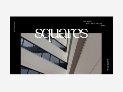 Squares | Geometry | WEBGLXPE webgl website ui uidesign