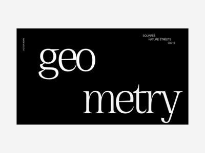 Typography | Geometry | WEBGLXPE