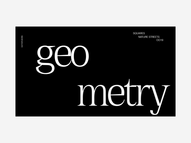 Typography | Geometry | WEBGLXPE typography website web ux uidesign