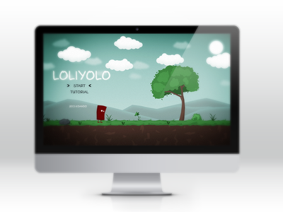 Loliyolo Platformer scirra construct2 loliyolo game titlescreen platformer
