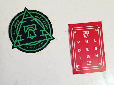 PHLDesign Stickers
