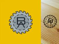 Dad's woodworking logo