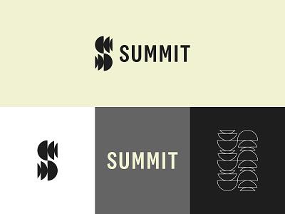 Summit Production Mark light mark lockup symbol raleigh cinematography video identity