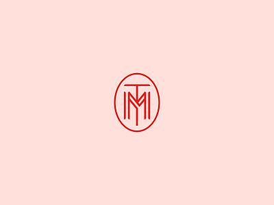 Marsey Monogram development apartments identity logomark north carolina durham logo t m monogram