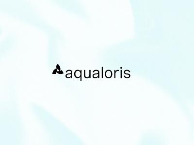 Aqualoris Logo film video honolulu hawaii waves identity photography water