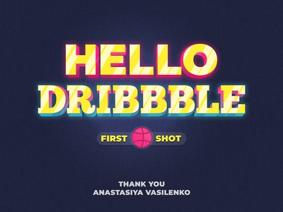 My first Dribbble Shot!