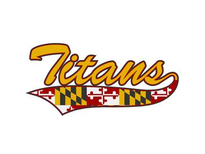 Titans Script Tails Yellow Gold