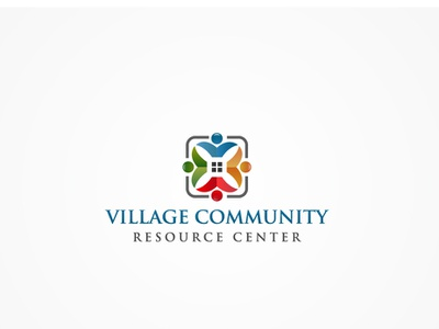 VCRC identity harmony family reunion embracing cultures connection meeting leadership friendship social issues backgrounds teamwork abstract solidarity heart shape family unity logo community support