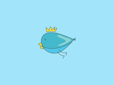 Balloon Bird Logo
