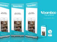 Bamboo - Pop up Banner