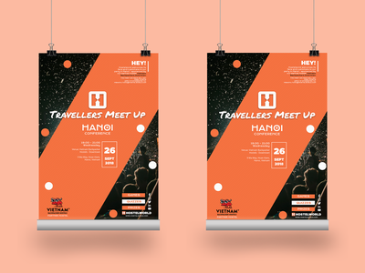 Hanoi Conference Poster - Travellers Meet Up - Hostelworld