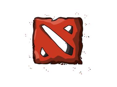 Dota 2 Symbol - Illustration