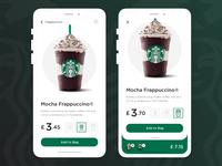 Coffee Ordering App (Starbucks)