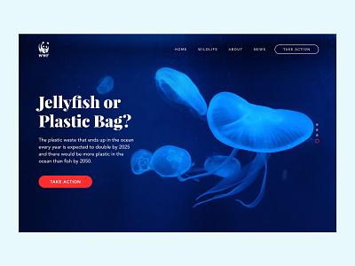 No Plastic Campaign Site #3 sos help sea creatures plastic pollutaion animals earth saving protect website campain save earth planet blue turtle jellyfish sea ocean nature plastic no plastics