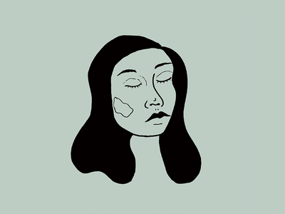aloud / allowed hair girl illustration art illustration