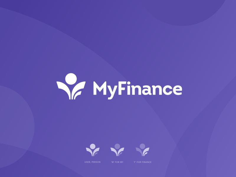 My Finance logo logodesign fintech branding fintech logo fintech brand designer brand identity branding finance logo