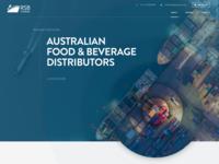 Shipping Company Web Design