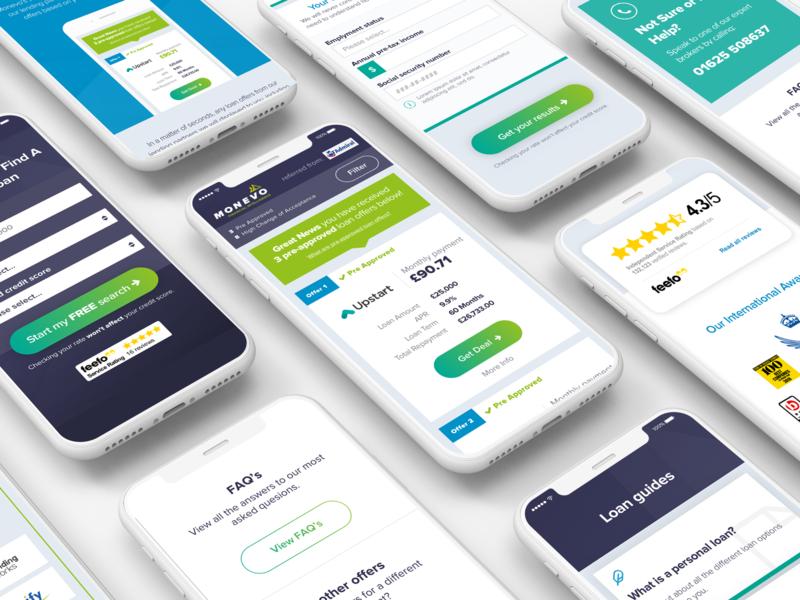 Monevo mobile screen loan mobile design mobile ux design interface design website ui design web design