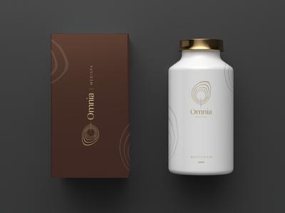 Omnia medispa branding medical logodesign minimal logos minimal logo minimal design spa logo spa spalogo medispa logo branding