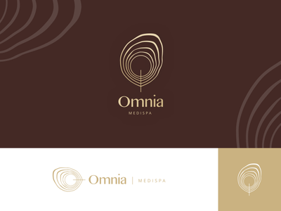 Omnia Medispa minimal branding minimal logo minimal design medipa spa logo design logo branding