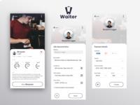Waiter - hire process
