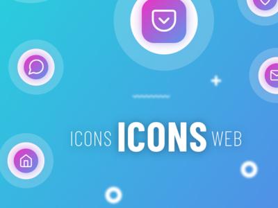 website icons set | sketch | FREE