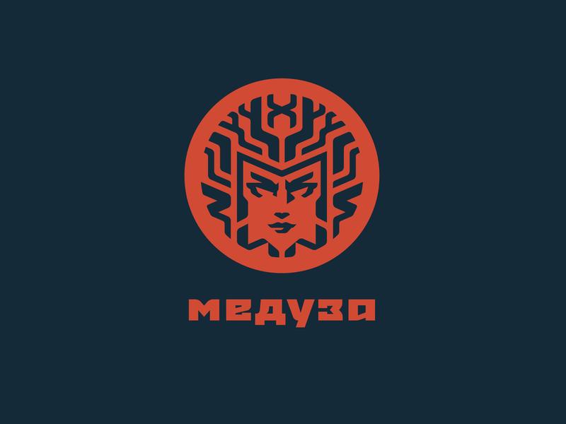 Meduza club computer meduza illustration type lettering font letter branding brand identity logotype logo