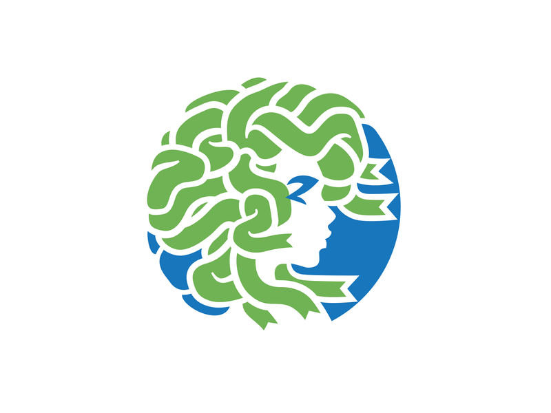 Meduza club meduza simple illustration branding brand identity logotype logo