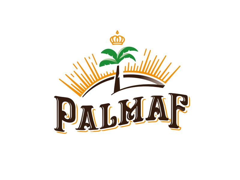 Palmaf palma illustration type lettering font letter branding brand identity logotype logo