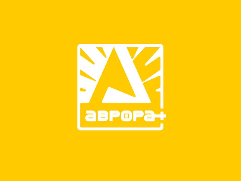 Aurora+ company energy simple illustration type lettering font letter branding brand identity logotype logo