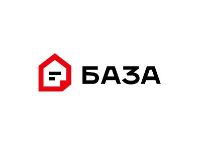 Baza realestate baza design simple illustration type lettering font letter branding brand logotype logo identity