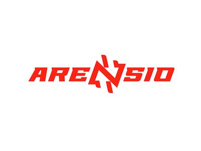 Arensio bulk goods supply search arrow n arensio illustration type lettering font letter branding brand logotype logo identity