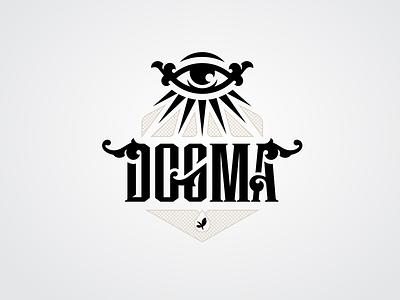 Dogma production tabacco dogma simple illustration type lettering font letter branding brand logotype logo identity