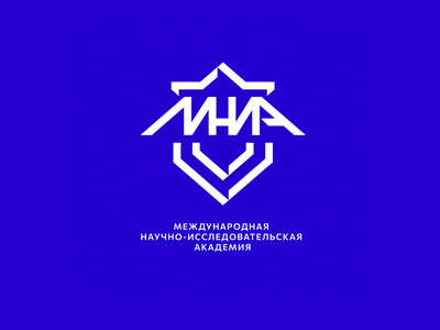 MNIA academy research international mnia simple illustration type lettering font letter logo branding brand logotype identity