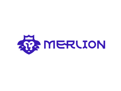 Merlion catamaran private design font letter branding brand logotype logo identity