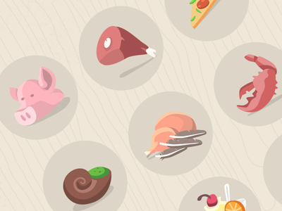 Food icons – Part 1