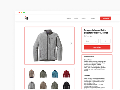 Boxes in boxes, in boxes boxes check out product page mockup figma